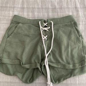 Aerie tie up comfy shorts